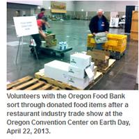 Oregon Foodbank donations