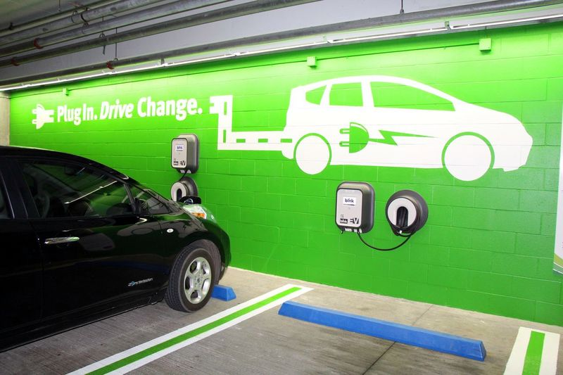 EV Charge Station at OCC