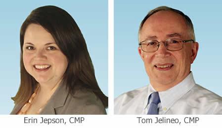 Erin Jepson and Tom Jelineo